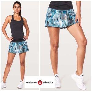 NEW Lululemon Women's Pace Rival Skirt In Sun Daze